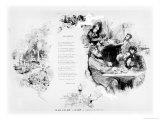 Cafe, circa 1860-80 Giclee Print by Edmond Morin