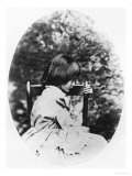 Alice Pleasance Liddell 1858 Giclee Print by Lewis Carroll