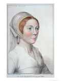 Portrait of Catherine Howard Premium Giclee Print by Hans Holbein the Younger