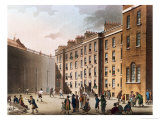 "The Fleet Prison from Ackermann's ""Microcosm of London,"" Volume II, 1809 Giclee Print by T. & Pugin Rowlandson"