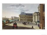 The Palais Des Beaux Arts, circa 1815-20 Giclee Print by Henri Courvoisier-Voisin