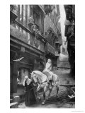 Lady Godiva Riding Through the Streets of Coventry Lámina giclée por Jules Joseph Lefebvre