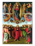 Assumption of the Virgin, 1506 Giclee Print by Pietro Perugino