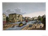 The Barriere Saint Denis, circa 1815-20 Giclee Print by Henri Courvoisier-Voisin