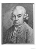 Portrait of Carl Philipp Emanuel Bach Giclee Print