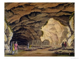 "Sepuchral Cavern of the Guances, from ""Le Costume Ancien Et Moderne"" Giclee Print by Giovanni Bigatti"