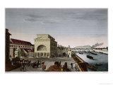 The Barriere De Passy, circa 1815-20 Giclee Print by Henri Courvoisier-Voisin