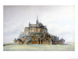 Project for Restoration of Mont Saint-Michel, March 1875 Premium Giclee Print by Edouard-jules Corroyer