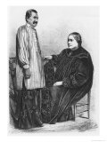Queen Pomare IV (1827-77) of Tahiti and Her Husband, Illustration from &quot;Le Tour Du Monde&quot; Giclee Print by Auguste Bertrand