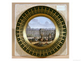 Sevres Plate Depicting the Arrival of the Sword of Frederick II the Great Giclee Print