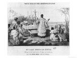 Abbot Moussa, Senegal, circa 1840 Giclée-Druck von Pierre Roch Vigneron