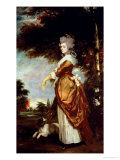 Mary Amelia, 1st Marchioness of Salisbury, 1780-1 Giclee Print by Sir Joshua Reynolds