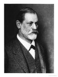 Portrait of Sigmund Freud circa 1900 Digitálně vytištěná reprodukce