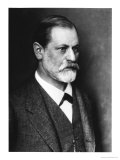 Portrait of Sigmund Freud circa 1900 - Giclee Baskı
