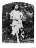 Alice Pleasance Liddell as the Beggar Maid Giclee Print by Lewis Carroll
