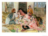 The Harem, circa 1850 Giclee Print by John Frederick Lewis