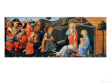 Adoration of the Magi, circa 1430-50 Giclee Print by  Fra Angelico