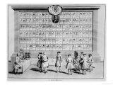 The English Masonic Lodges, circa 1730 Giclee Print