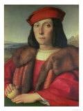 Portrait of Francesco Della Rovere, Duke of Urbino Reproduction procédé giclée par Raphael