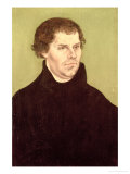 Martin Luther Gicle-tryk af Lucas Cranach the Elder