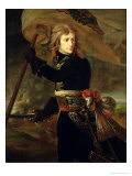 Napoleon I on the Bridge of Arcole Premium Giclee Print by Baron Antoine Jean Gros