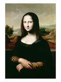 Mona Lisa, Copy of the Painting by Leonardo Da Vinci Giclee Print by  Flemish