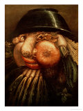 The Vegetable Gardener, circa 1590 Giclee Print by Giuseppe Arcimboldo