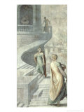 Bathsheba Visiting David, circa 1553 Giclee Print by Francesco Salviati