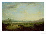 A View of the Town of Stirling on the River Forth Giclee Print by Alexander Nasmyth