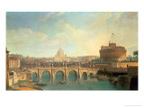 Rome Giclee Print by Vanvitelli (Gaspar van Wittel) 