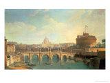 Rome Giclee Print by  Vanvitelli (Gaspar van Wittel)