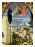 Santa Trinita Altarpiece, Detail of the Grieving Angels, circa 1434 Giclee Print by  Fra Angelico