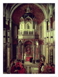 The Miraculous Healing of Pietro De' Ludovici, 1501 Giclee Print by Gentile Bellini