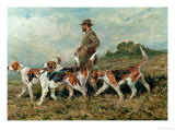 Hunting Exercise Giclee Print by John Emms