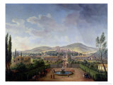 View of Marino Giclee Print by Vanvitelli (Gaspar van Wittel)