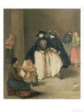 The Fruit Seller Giclee Print by Pietro Longhi