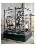 Cathedral Clock Made for the Tower in Salisbury Cathedral, Oldest Known Mechanical Timekeeper Giclee Print