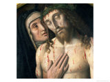 Lamentation of the Dead Christ (Detail) Giclee Print by Giovanni Santi Or Sanzio