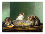 The Fishing Party Premium Giclee Print by Horatio Henry Couldery