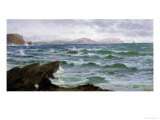 A Coastal Scene Giclee Print by David James