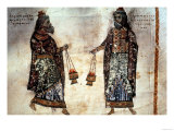 Priests with Censers, 6th Century Giclee Print