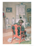 Esbjorn Convalescing Giclee Print by Carl Larsson
