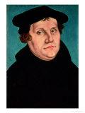 Portrait of Martin Luther, 1529 Giclée-Druck von Lucas Cranach the Elder