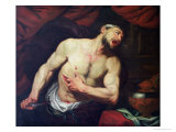 Death of Cato Giclee Print by Giambattista Langetti