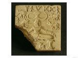 Steatite Pasupati Seal, Mohenjodaro, 2300-1750 BC Giclee Print