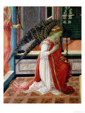 Annunciation (Detail) Giclee Print by Filippino Lippi