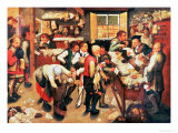 The Payment of the Tithes Giclee Print by Pieter Brueghel III