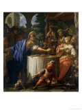 The Banquet of Mark Anthony and Cleopatra Giclee Print by Francesco Trevisani