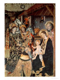 Adoration of the Kings, 1464-65 Premium Giclee Print by Jaume Huguet