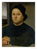 Portrait of Perugino, circa 1504 Reproduction proc&#233;d&#233; gicl&#233;e par Raphael 